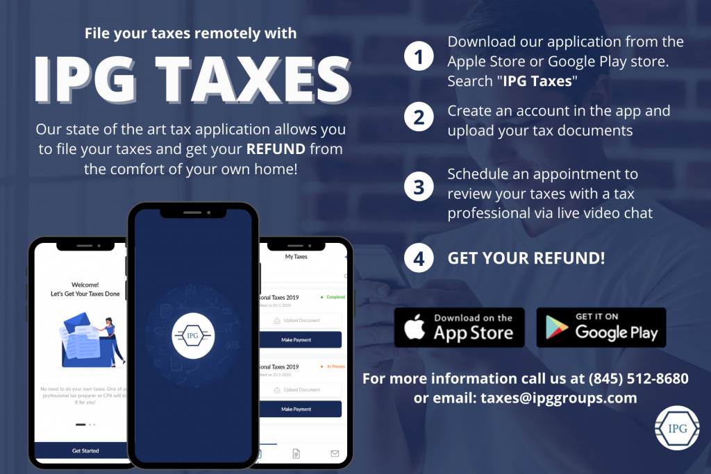 IPG Taxes - Download App